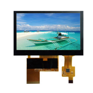 "Outdoor Use Highbrightness 4.3""TFT Screen with Capacitive Touch Panel: ATM0430d12b-CT"
