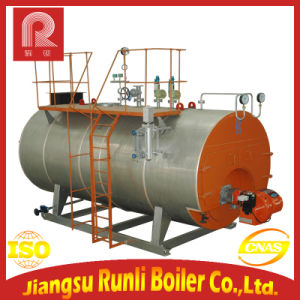 Wns Industrial Heavy Oil and Light Oil Fired Steam Boiler or Hot Water Boiler with Burner