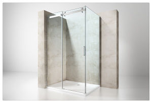 6mm/8mm/10mm Terpered Glass One Sliding Door Shower Enclosure