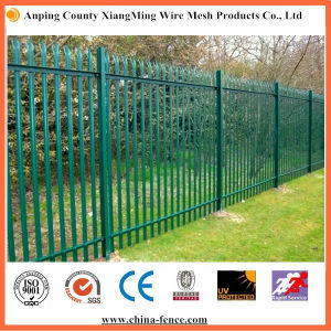 Galvanized or PVC Coated Palisade Fence for Cheap Sale pictures & photos