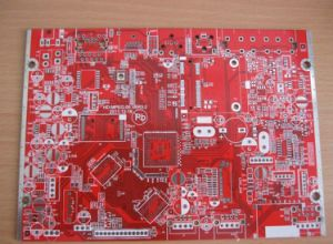 Red 4 Layer Multilayer PCB Board for Electronics pictures & photos