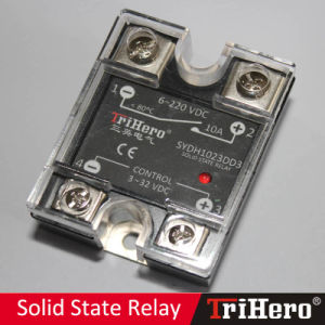 10A DC/DC Single-Phase SSR Solid State Relay pictures & photos