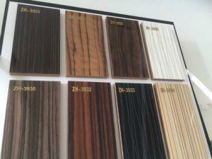 China Woodgrain Laminate Mdf Uv Boards For Kitchen Cabinet Doors