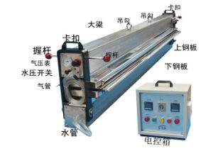 Manufacture of Hot Press Water Cooling Vulcanizing Press Equipment for Conveyor Belt pictures & photos