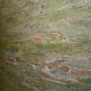 Imported Natural Green Granite Slab Waterfall Green