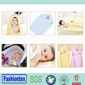 100% Cotton Newborn Baby Hooded Towel Baby Bath Towel pictures & photos