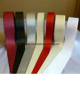Single Face/Double Face Slited Edge Polyester Satin Ribbon pictures & photos