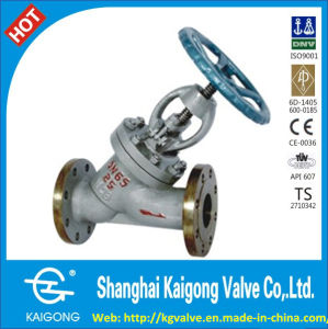 Professional Manufacturer of Y Type Globe Valve