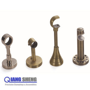 Adjule Tension Metal Curtain Rod