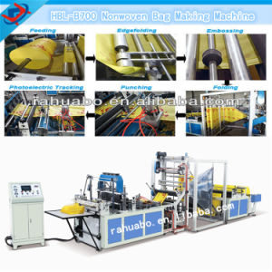 China Non Woven Fabric Bag Making Machine (HBL-B700-800) pictures & photos