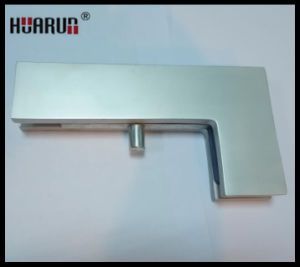 "Aluminium Big ""L"" Type Frameless Glass Door Clamp (HR5040-AL) pictures & photos"