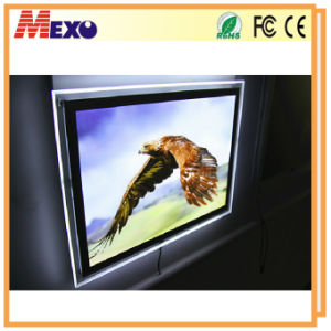 Wall Mounted Magnetic Open Acrylic Slim LED Light Box (CSW03-A3L-13) pictures & photos