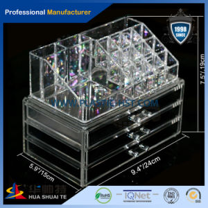 Customer Design Acrylic Material Tabletop Cosmetic Organizer / Makeup Organizer / Acrylic Drawer pictures & photos