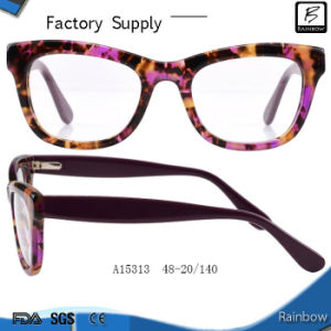 Cat Eye Supplier Acetate Optical Frames (A15313)