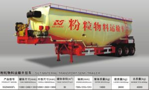 Bulk Cement Powder Material Tanker Semi Trailer pictures & photos