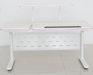Awesome Childlike Electric Lifting Height Adjustable Study Desk With Simple Bookshelf For Kids Download Free Architecture Designs Licukmadebymaigaardcom