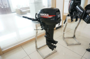 Strong Powerful 9.9HP Water Cooled 2 Stroke Outboard Motor pictures & photos