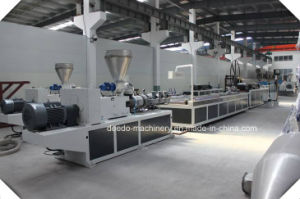 Plastic PVC UPVC Window Profile Extruder Machinery pictures & photos