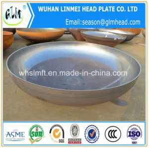 Carbon Steel Dished Cap Heads Elliptical Head for Pressure Vessel pictures & photos
