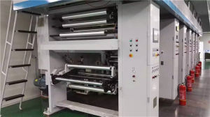 Used Multi Colour Computer Auto Jacket Gravure Printing Machine