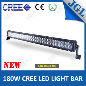 Dual Row CREE 180W LED Light Bar Offroad 4D