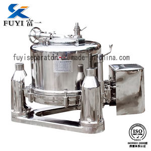 Model Ssm Three Column Manually Top Discharge Batch Industrial Centrifuge