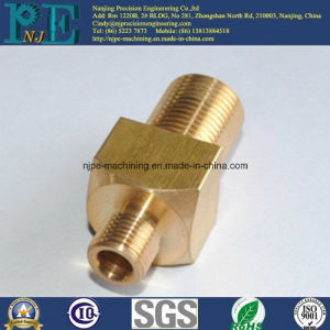 ISO9001 and SGS Certified Brass Copper Machining Parts