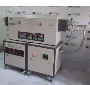 Three Temperature Zone Explosion-Proof Furnace CVD System for Laboratory Experiment Btf-1200c-III-PV