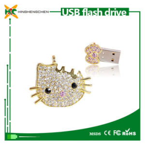Hello Kitty Crystal USB Disk Wholesale Buy USB Flash Drives pictures & photos