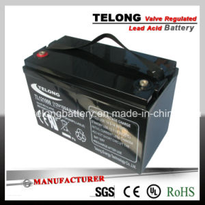 12V100ah Rechargeable Lead Acid Solar Power Battery pictures & photos