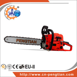 Approved 52cc 2.2kw Gasoline Chainsaw High Quality pictures & photos