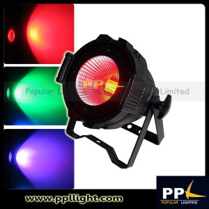 LED Wash Light COB 100W RGB Tri-Color LED PAR Can