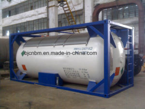 Professional LPG/LNG ISO Un Tank Container with Low Price pictures & photos