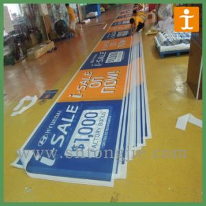 Sunproof or Waterproof Mesh Wrap Digital Printing Mesh Banner (TJ-OB001) pictures & photos