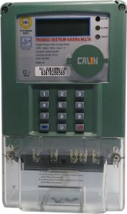 Single Phase Keypad Prepaid Energy Meter for Indonesia Market pictures & photos
