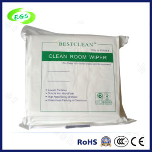 "Microfiber Knitting Lint-Free Cleanroom Cleaning Wiper (EGS-3303-6"") pictures & photos"