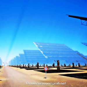 Tower Type Linear Fresnel Type Parabolic Trough Type Concentrated Solar Power (CSP) Use Mirror