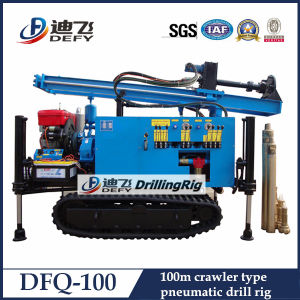 Mobile DTH Hammer Drilling Rig for Water Drilling pictures & photos