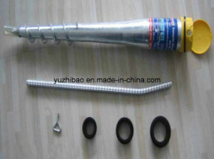 Helical Ground Screw Drilling, Galvanized Ground Screw, Screw Pile