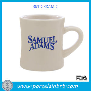 Hand Made Custom Logo Ceramic Diner Coffee Mug pictures & photos