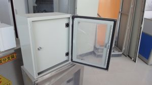 IP66 Glass Door Transprent Door Electrical Enclosure Box (BJS1/GD) pictures & photos