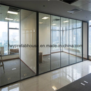 Clear/Frosted Low-E Tempered Glass Partition Wall (LWY-TG33)