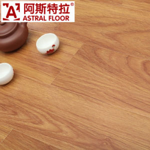 12mm Popular Colors AC3 AC4 Silk Surface (U-Groove) Laminate Flooring (AS1136) pictures & photos