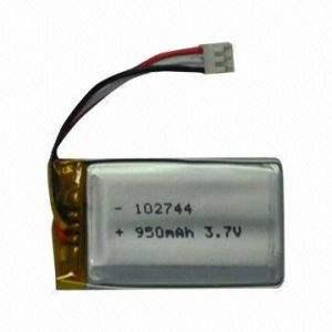 3.7V 950mAh Ntc P102744 Rechargeable Li-Polymer Battery pictures & photos