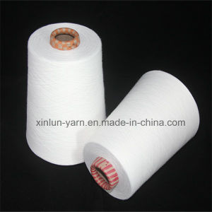 Virgin Polyester Spun Yarn for Knitting Sewing Thread Ne 40/1 pictures & photos