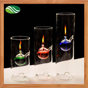 Creative Transparent Glass Oil Lamp as Unique Wedding Gift pictures & photos