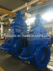 Resilient Seat Metal Seat Gate Valve with Bypass Valve pictures & photos