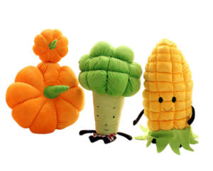 Stuffed Vegetable Soft Toys Plush Stuffed Pumpkin Toy
