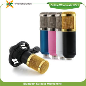 OEM High Quality Colorful Bm-800 Condenser Microphone Studio Recording 1000mAh Built in Lithium Battery