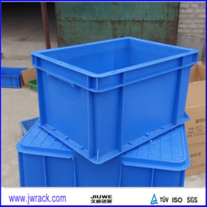 Solid Stackable Plastic Crate pictures & photos